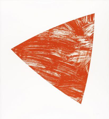 リトグラフ Kelly - Untitled (Red State I)