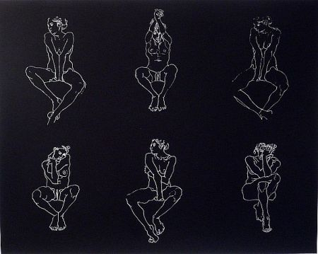 シルクスクリーン Graham - Untitled, Six Nudes
