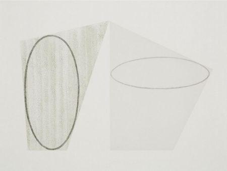 彫版 Mangold - Untitled, State A (color)
