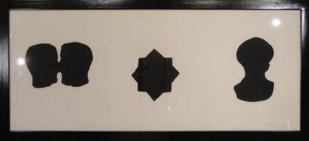 彫版 Blais - Untitled triptych