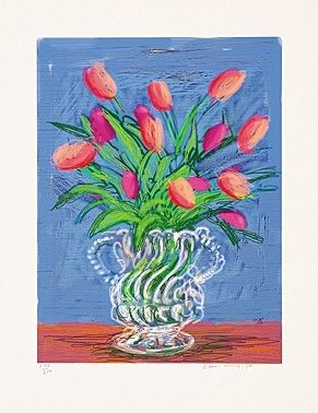 挿絵入り本 Hockney - Untitles 346 in