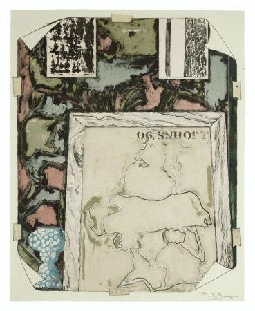 リトグラフ Johns - Unttitled