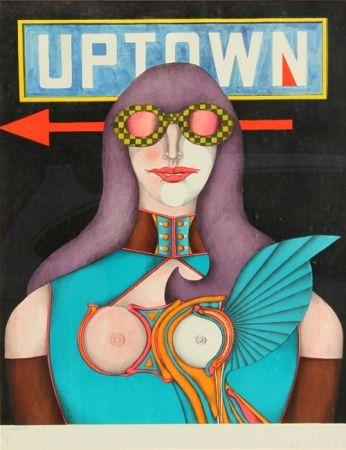 リトグラフ Lindner - Uptown