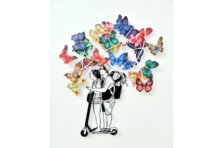多数の Gerstein - Urban Dream Butterflies