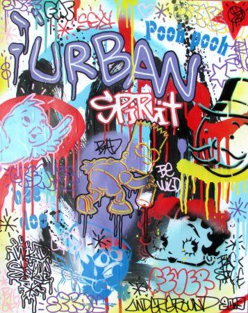 シルクスクリーン Speedy Graphito - Urban Spirit
