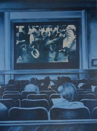 シルクスクリーン Monory - USA 76 - Movies