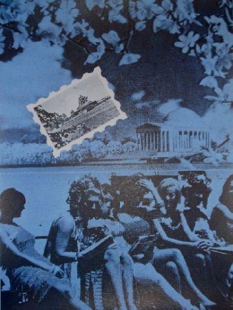 シルクスクリーン Monory - USA 76 - Plage
