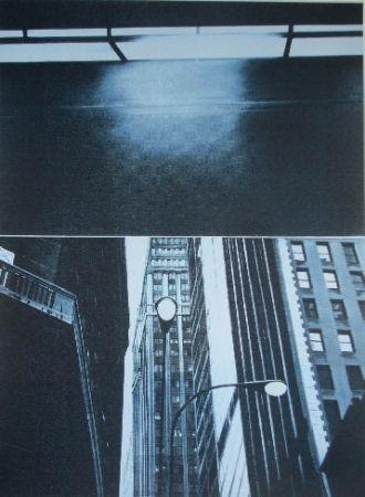 シルクスクリーン Monory - Usa 76 - Skyscrapers