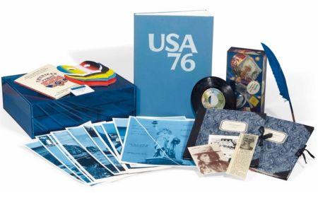 挿絵入り本 Monory - USA 76. Bicentenaire Kit.