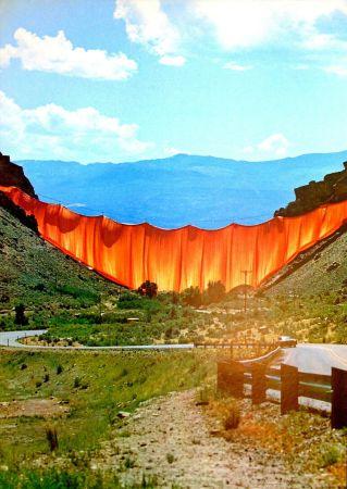 オフセット Christo - Valley curtain, Rifle - Colorado 1-4