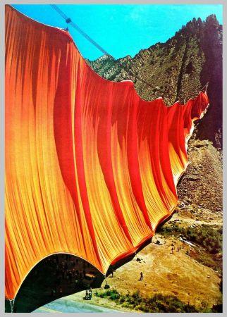 オフセット Christo - Valley curtain, Rifle - Colorado 2-4
