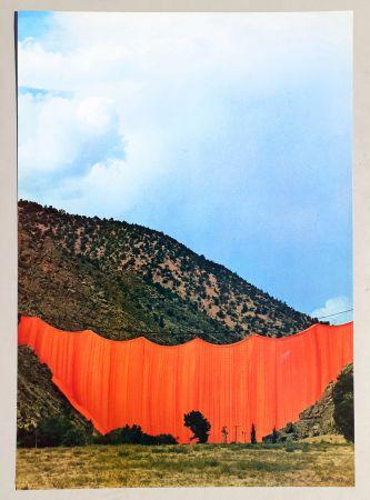 オフセット Christo - Valley curtain, Rifle - Colorado 3-4