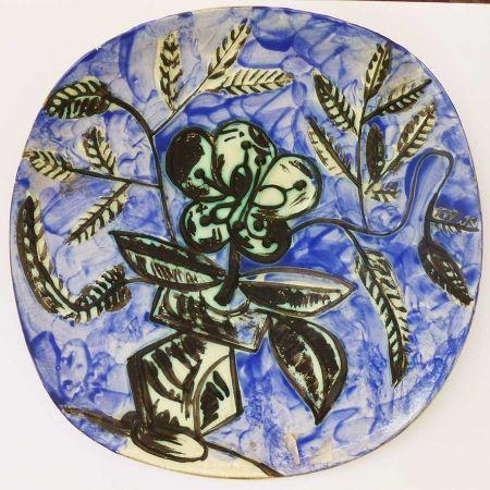 セラミック Picasso - Vase au bouquet