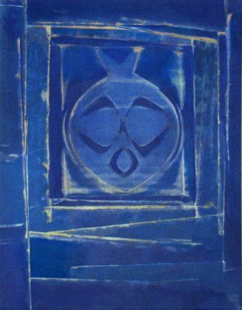 ステンシル Ernst - Vase bleue