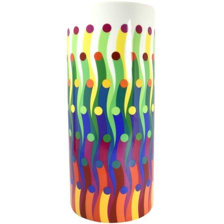セラミック Le Parc - Vase surface colorée