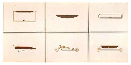 リトグラフ Piacentino - VEHICLES SCULPTURES - WALL SCULPTURES