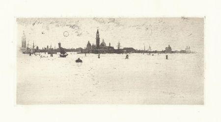彫版 Pennell - Venice from the Sea
