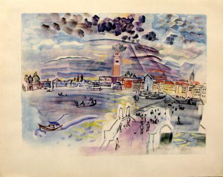 リトグラフ Dufy - Venise