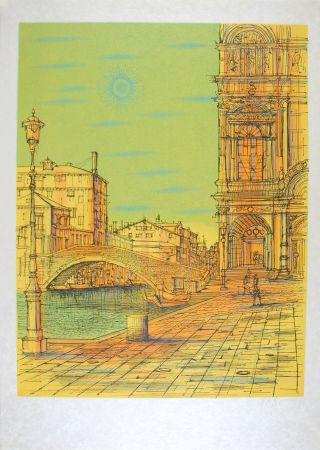リトグラフ Carzou - Venise