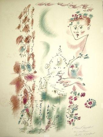 リトグラフ Masson - Venise en fleurs