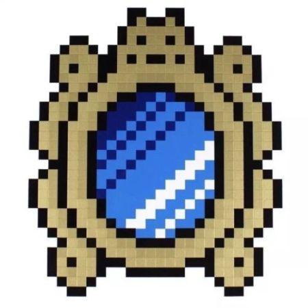 シルクスクリーン Space Invader - Versailles (Blue)