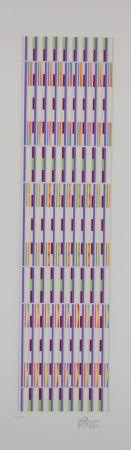 多数の Agam - Vertical orchestration purple