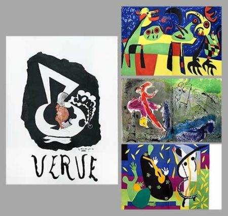 挿絵入り本 Chagall - Verve 27 28