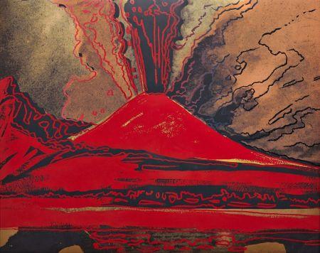 シルクスクリーン Warhol - Vesuvius (FS II.365)