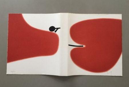 リトグラフ Pasmore - Victor Pasmore - Untitled Sans Titulo 1972 - Lithograph