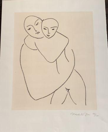 リトグラフ Matisse - Vierge et l'enfant