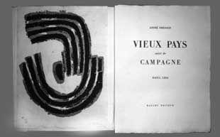 挿絵入り本 Ubac - Vieux pays