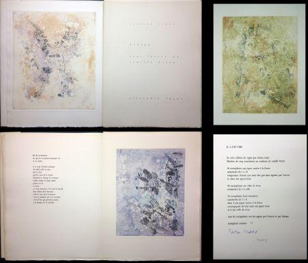 挿絵入り本 Tzara - VIGIES. 5 eaux-fortes de Camille Bryen (1962).