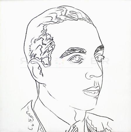 シルクスクリーン Warhol - Vincente Minnelli