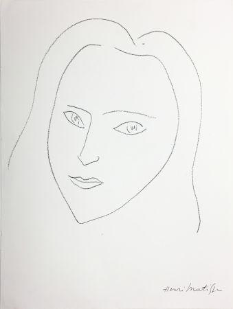リトグラフ Matisse - VISAGE (1943)