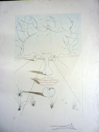 彫版 Dali - Visage Surrealiste From