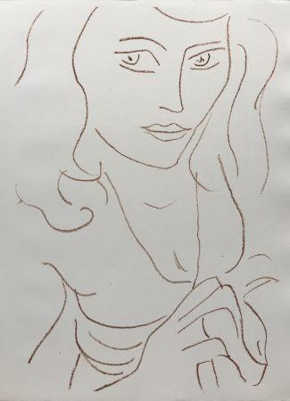 リトグラフ Matisse - Visages I