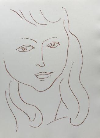 リトグラフ Matisse - Visages II