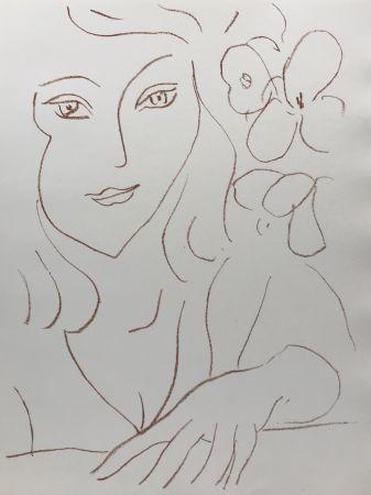 リトグラフ Matisse - Visages III