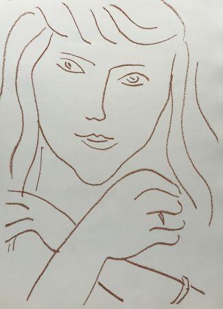 リトグラフ Matisse - Visages IV