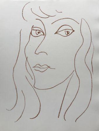 リトグラフ Matisse - Visages V