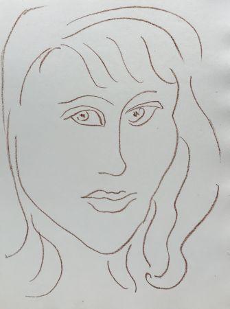 リトグラフ Matisse - Visages VII