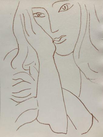 リトグラフ Matisse - Visages VIII