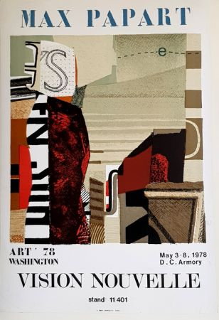 リトグラフ Papart - Vision Nouvelle  Art 78 Washington