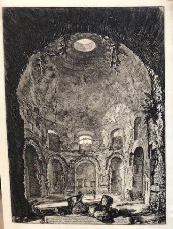 エッチング Piranesi - Vista interior del templo della Tose
