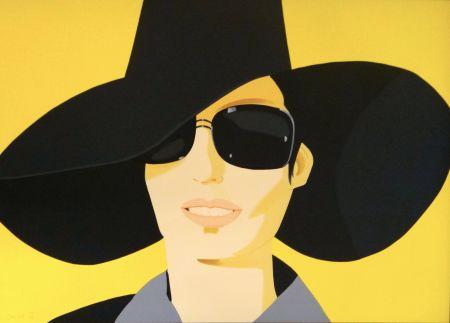 リトグラフ Katz - Vivien In Black Hat