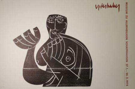 木版 Grieshaber - Vogelfrei II