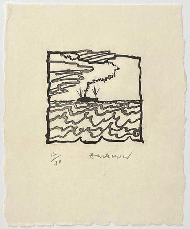 彫版 Alechinsky - Volturno