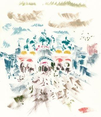 リトグラフ Masson - Voyage À Venise