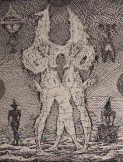 エッチング Coutaud - Voyage dans la lune 1