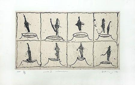 彫版 Alechinsky - Vulcanalyses